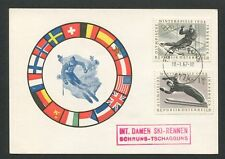 AUSTRIA MK 1964 OLYMPIA OLYMPICS SKI SLALOM CARTE MAXIMUM CARD MC CM d8567