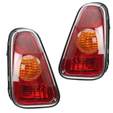 02-06 MINI COOPER HATCHBACK Rear Tail Light Lamp Pair Set
