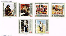 Germany DDR Art Famous Paintings Dresden Gallery stamps 1969 MLH