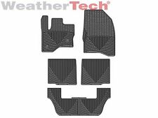 WeatherTech® All-Weather Floor Mats - Ford Flex - 2011-2016 - Black