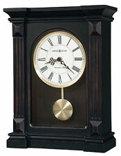 Howard Miller 635-187 (635187) Mia Mantel/Mantle/Shelf Clock - Worn Black