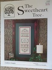 10% Off Sweetheart Tree Counted X-stitch Chart - Cranberry Sampler