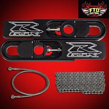 2004 GSX-R 1000 Swingarm Extensions kit, Chain,Brake Line Swing Arm Extension