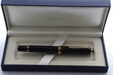 Pelikan Souveran M800 Black Fountain Pen Oblique Broad (OB) Nib