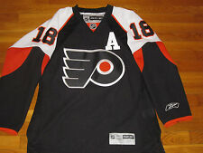 REEBOK PHILADELPHIA FLYERS RICHARDS LONG SLEEVE NHL HOCKEY JERSEY MENS MEDIUM