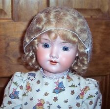 "Antique 23"" Armand Marseille 390 AM German Bisque Doll Open Mouth Jointed Body"