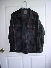 Special Forces Ops Hand Dyed Black US Army BDU Woodland Uniform Medium