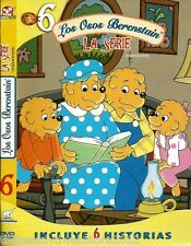 "Los Osos Berenstain-The Berenstain Bears-La serie "" 6 "" DVD-75Min-English Option"