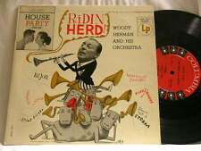 "WOODY HERMAN Ridin' Herd Bill Harris Flip Phillips Ralph Burns Columbia 10"" LP"