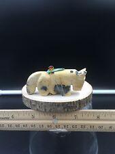 Zuni Fetish/leopard Stone Horse/Burt Awelagate/Zuni Carving #H248