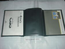 A GENUINE RENAULT CLIO  MK2 1999-2000  OWNERS INSTRUCTION HANDBOOK AND WALLET