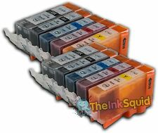 10 x PGI-520 / CLI-521 Ink Cartridges for Canon Pixma