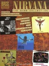 Nirvana The Bass Guitar Collection Bass Recorded Versions Tab Book NEW!
