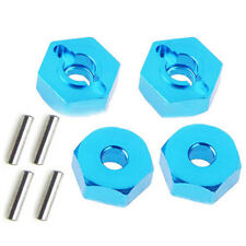 4Pcs 12mm Hex Wheel Hub Mount and Pins for RC 1/10 Traxxas Slash 4X4 12mm