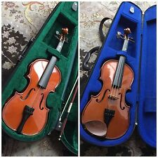 2 Stentor Violins In Excellent Condition. One Requiring A Wire & The Other A Bow
