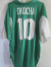 Nigeria Okocha 10 2000 Home Football Shirt Size XL /34879