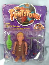 THE FLINTSTONES - BARNEY RUBBLE- LAWN MOWIN' BARNEY MATTEL 1993 UNOPENED/SEALED