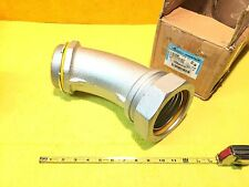 "**NEW** COOPER CROUSE HINDS LTB40045 4"" SEALTITE LIQUIDTIGHT 45 DEGREE CONNECTOR"