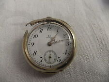 Watch Ladies pocket OMEGA GRAND PRIX 1900 14K 0,58 3637522 needs outer repair