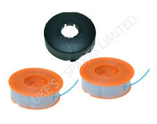 TWO BOSCH STRIMMER TRIMMER PROTAP SPOOL LINES & COVER EASYTRIM ART30 ART23 26