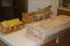 1950's Marx Roy Rogers Western Town Series 5000 Playset #4259 with Box!