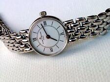 BAUME MERCIER SWISS WOMAN'S 14K GOLD WATCH Head & Bracelet, Roman Numeral Dial