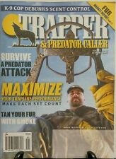 Trapper & Predator Caller Jan 2017 Trapline Performance Fur FREE SHIPPING sb