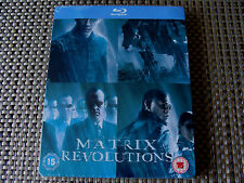 Blu Steel 4 U: Matrix Revolutions : Limited Edition Steelbook Sealed