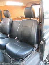 LANDROVER DEFENDER CAR SEAT COVERS 3 SEATER