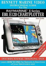Raymarine E Series: E80 and E120 Chartplotter Bennett Marine Video new N7800DVD