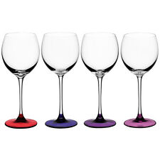 LSA Coro Wine Glass Set of 4 Berry 400ml White Wine Glasses GIFT BOXED BNIB SALE