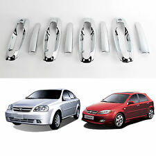 Chrome Door Handle Catch Molding Trim Cover for 04-08 Chevrolet Lacetti Optra