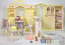 BARBIE HAPPY FAMILY GRANDMA'S KITCHEN USED
