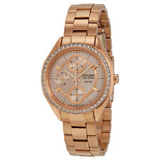 Citizen POV Eco-Drive Champagne Dial Ladies Watch FD1063-57X