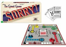 Sorry Classic Edition Board Game, New, Free Shipping