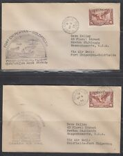 CANADA, 1935. First Flights, Ft Chippewan - Goldfields, AAMC 579 (2)