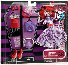 Monster High OPERETTA DELUXE FASHION Doll 2 Outfit Set Style Accessorie Pack NEW