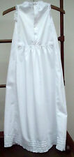 Victorian Christening Gown Dress Petticoat Handmade Antique Dolls Baby Night