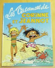 Tabary - Les Vacances de Corinne et Jeannot - Editions Tabary