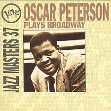 Verve Jazz Masters 37: Oscar Peterson Plays Broadway by Oscar Peterson (CD,...