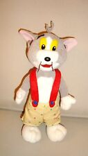 PELUCHE PLUSH TOM & JERRY CHAT CAT 1998 (21x12cm)