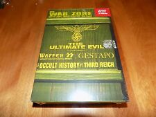 THE ULTIMATE EVIL Waffen SS Gestapo Secret Police Nazi Occult WWII DVD SET NEW