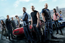 The Fast and the Furious 6 Movie Poster Fabric Silk 60x90cm Print Wall Decor 5