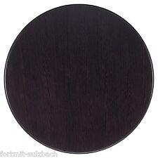 werzalit tischplatte rund 100 cm ebay. Black Bedroom Furniture Sets. Home Design Ideas