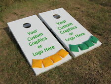 Cornhole Boards Painted Custom Graphics Bean Bag Toss Quality Regulation Size