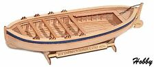 F0208 Boat Wooden Kit wood ship 1/72 model falkonet eight-oared boat 1824