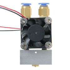 new Extruder Multi-Extrusion 2in-1Out Hotend 0.4mm For Reprap Prusa 3D Printer