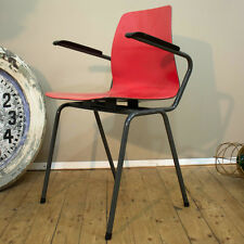 Vintage mid century modern pagwood steel chair chaise chaise LudovicGrossard panton affirmés