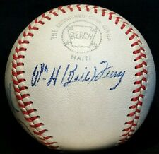 1973 HALL OF FAME INDUCTION Signed Baseball HOF Auto RARE ball BILL TERRY FELLER