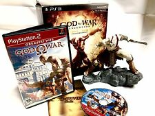 God of War Ascension Limited Collectors Edition Kratos Figure in Box & GoW 2 II